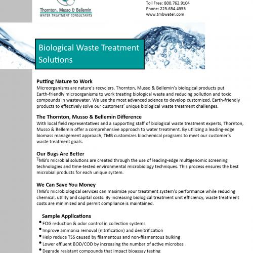 TMB Biological Products